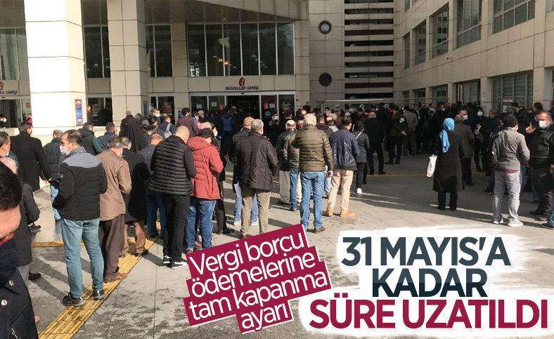 Vergi ödeme süresi 31 Mayıs'a kadar uzatıldı