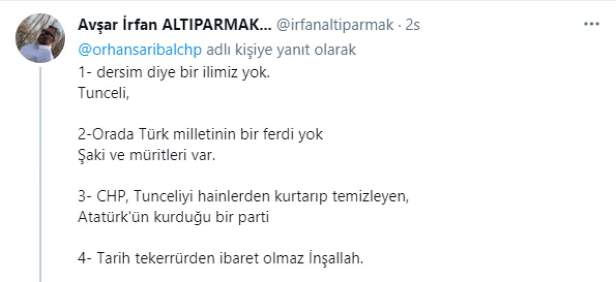 CHP li milletvekilinden tartışma yaratan paylaşım  #4