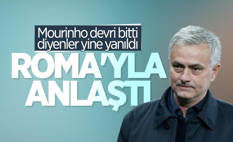 Roma, Mourinho ile anlaştı