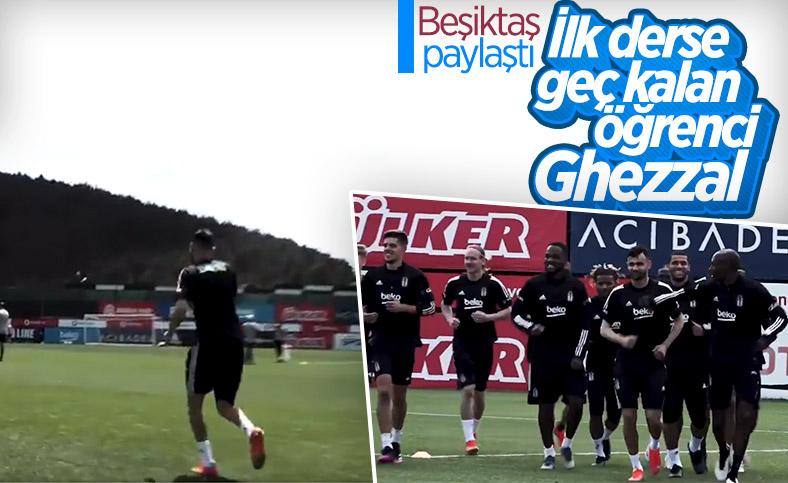 Beşiktaş paylaştı: İlk derse geç kalan öğrenci Ghezzal