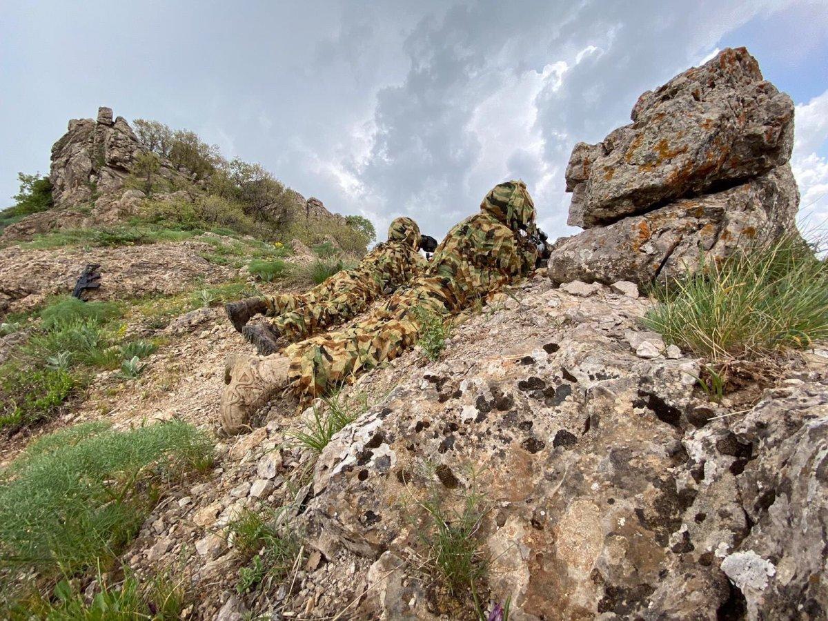 MSB, Irak ın kuzeyindeki operasyonlardan fotoğraf paylaştı #1