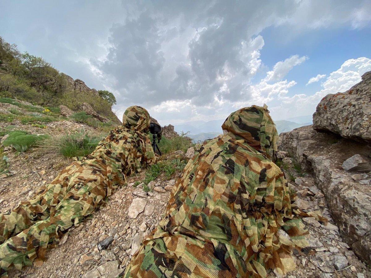 MSB, Irak ın kuzeyindeki operasyonlardan fotoğraf paylaştı #4