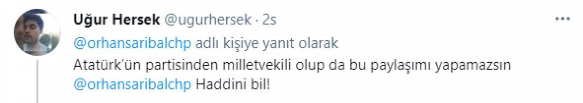 CHP li milletvekilinden tartışma yaratan paylaşım  #3