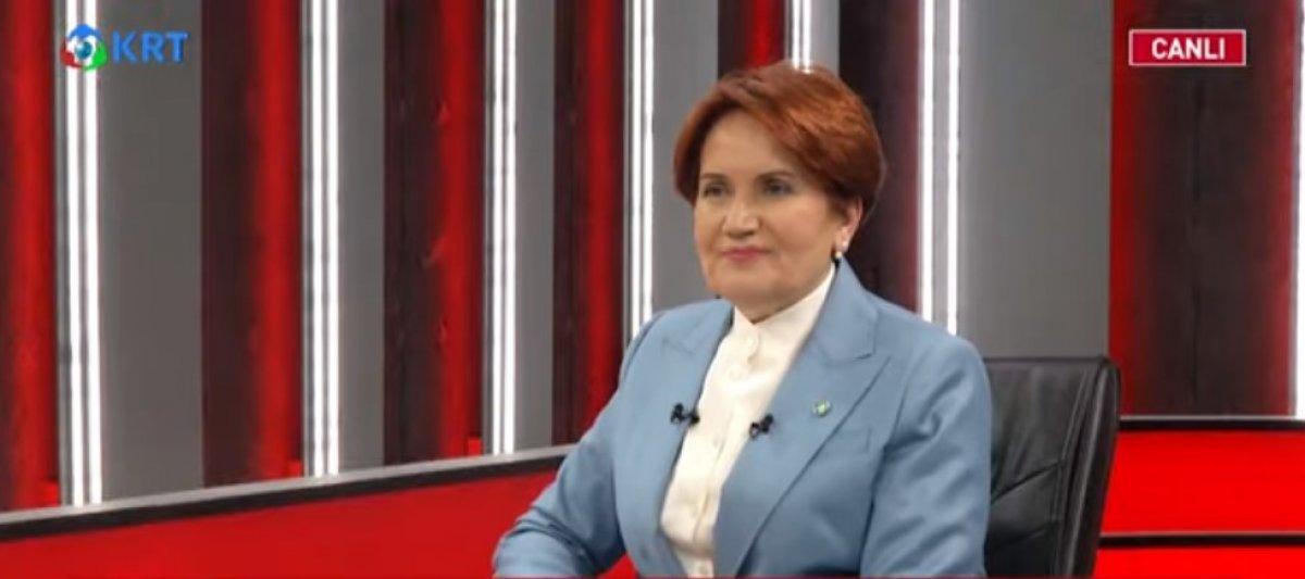 Meral Akşener den cumhurbaşkanlığı adaylığı açıklaması #1