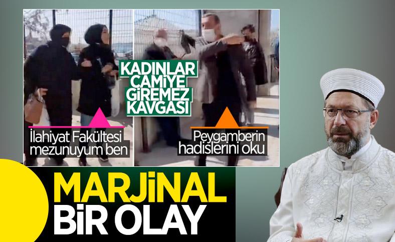 Ali Erbaş: Camilerimiz herkese açıktır