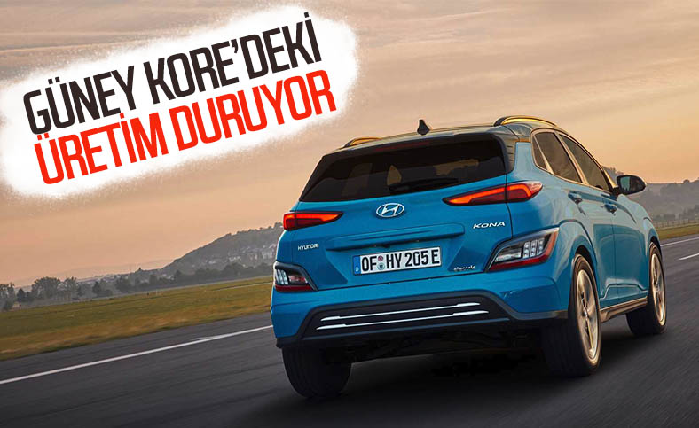 Hyundai, Güney Kore'de elektrikli Kona üretimini sonlandırdı