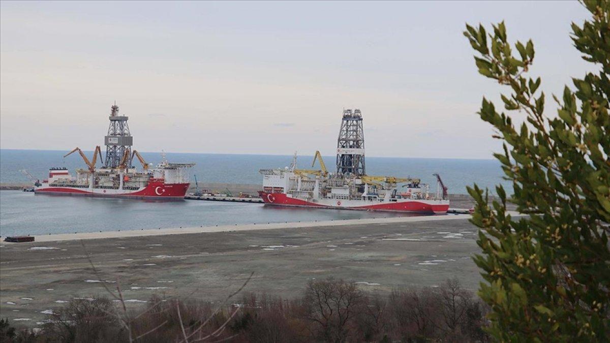 Bakan Fatih Dönmez: Kanuni sondaj gemimiz ilk görev için Karadeniz e açıldı #1