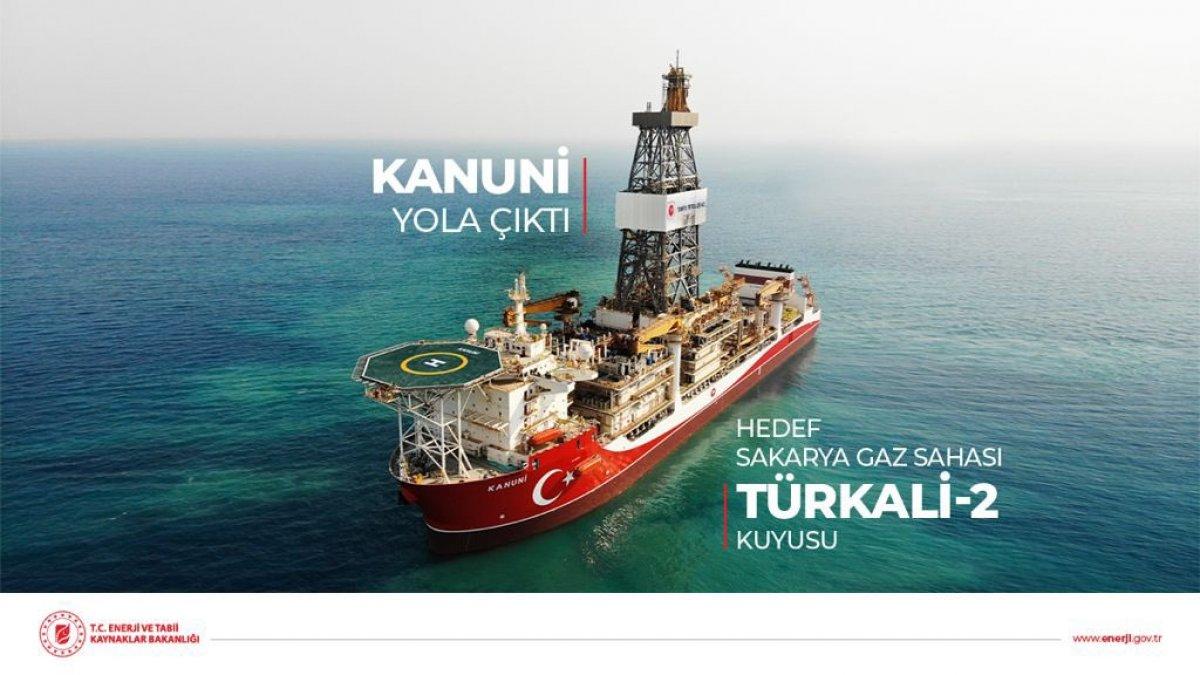 Bakan Fatih Dönmez: Kanuni sondaj gemimiz ilk görev için Karadeniz e açıldı #3