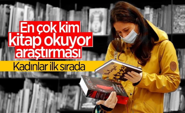 Türkiye'de en çok kadınlar kitap okuyor