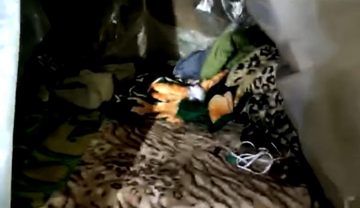 Kuzey Irak ta PKK mağarası imha edildi #1