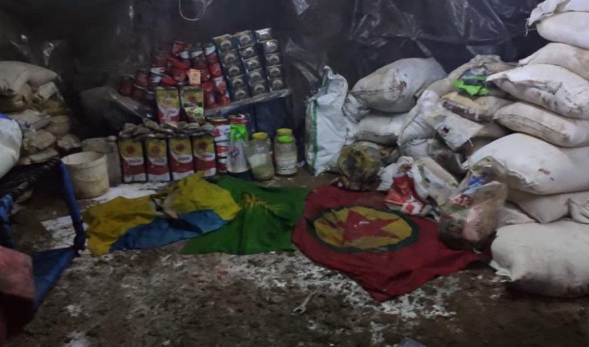 Kuzey Irak ta PKK mağarası imha edildi #3