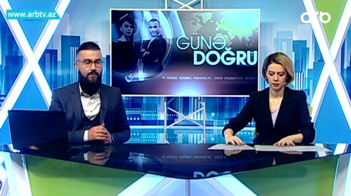 Gates çiftinin ayrılığına Azerbaycanlı sunucunun yorumu #2