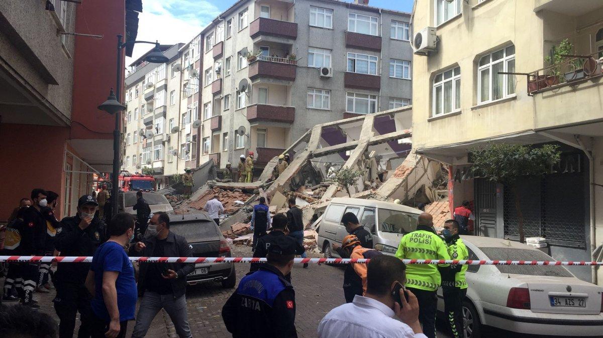 Zeytinburnu nda bina çöktü #3