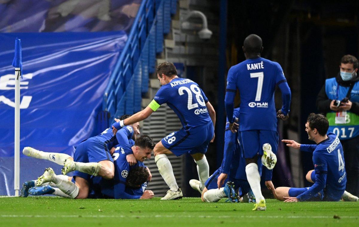 Şampiyonlar Ligi nde Real Madrid i eleyen Chelsea finalde #8