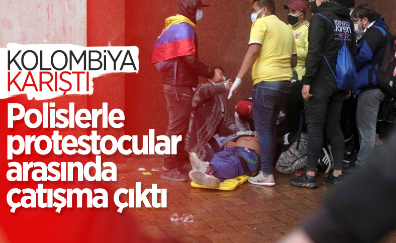Kolombiya'da protestolar sokak çatışmalarına döndü