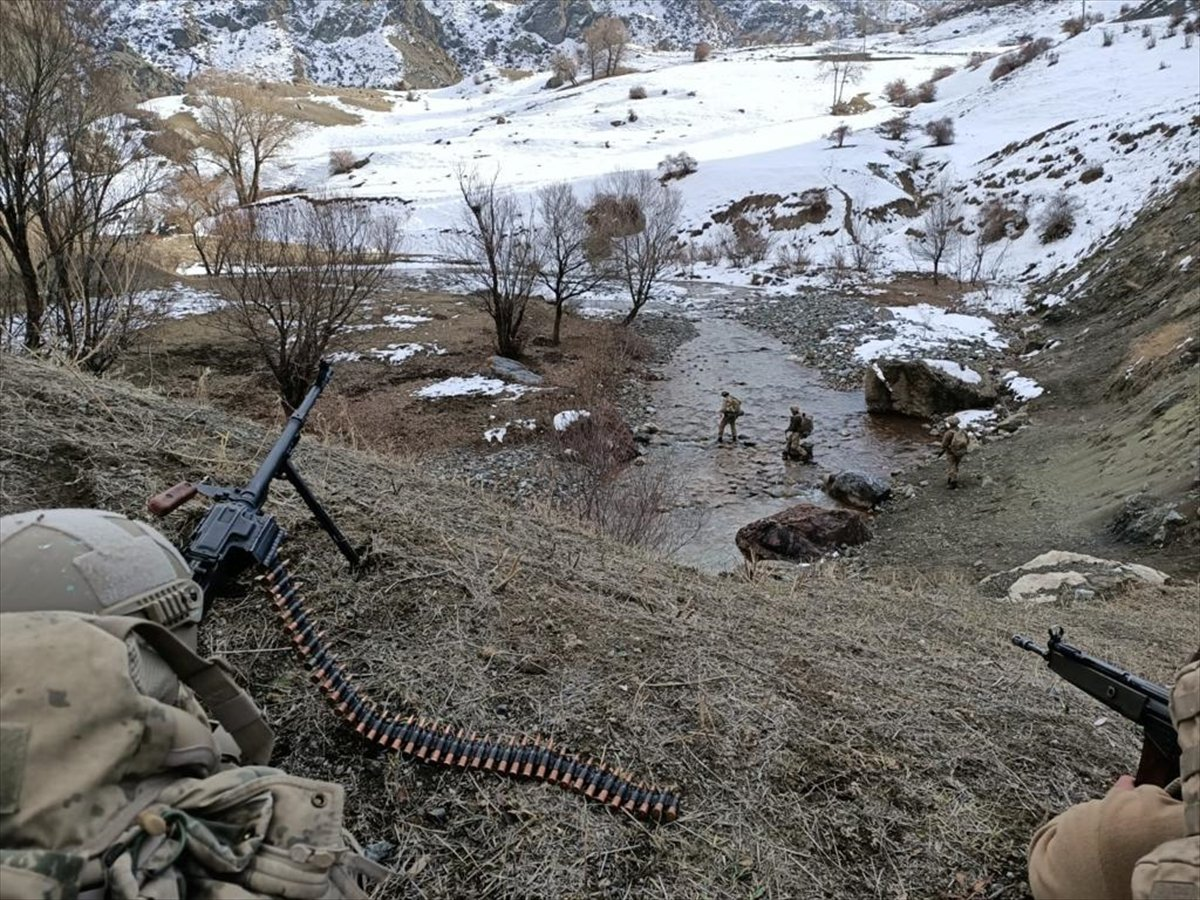 Eren-15 Ağrı Dağı-Çemçe Madur Operasyonu  başlatıldı #6