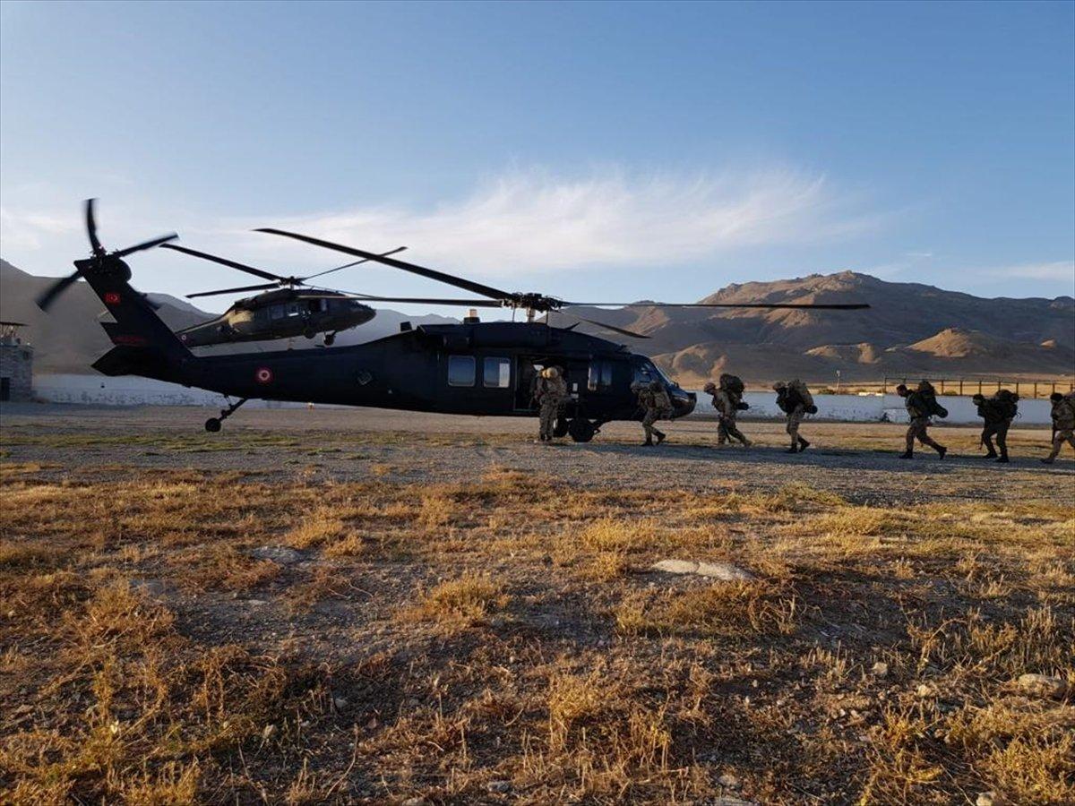 Eren-15 Ağrı Dağı-Çemçe Madur Operasyonu  başlatıldı #7