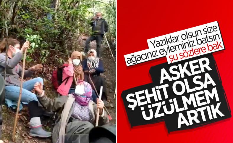 İkizdere'de taş ocağını protesto eden kız: Asker şehit olsa üzülmem artık