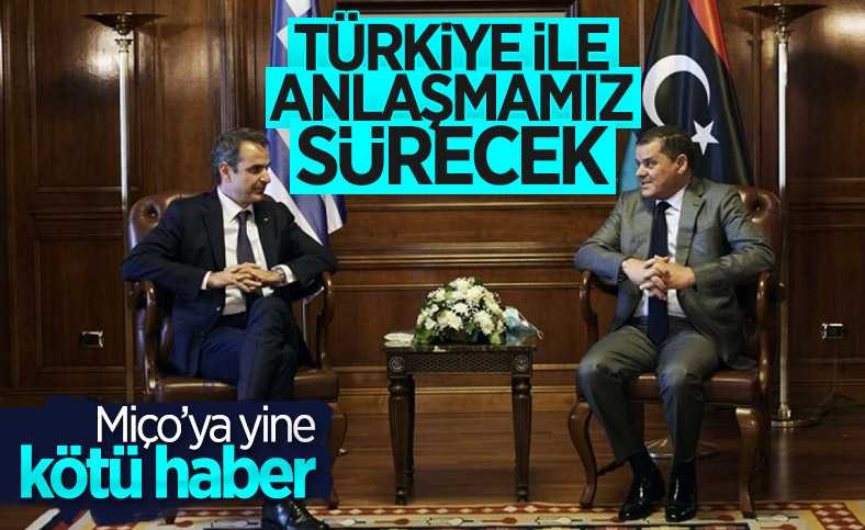 Libya Başbakanı: Türkiye ile yaptığımız anlaşmada Yunanistan ile aynı fikirde değiliz