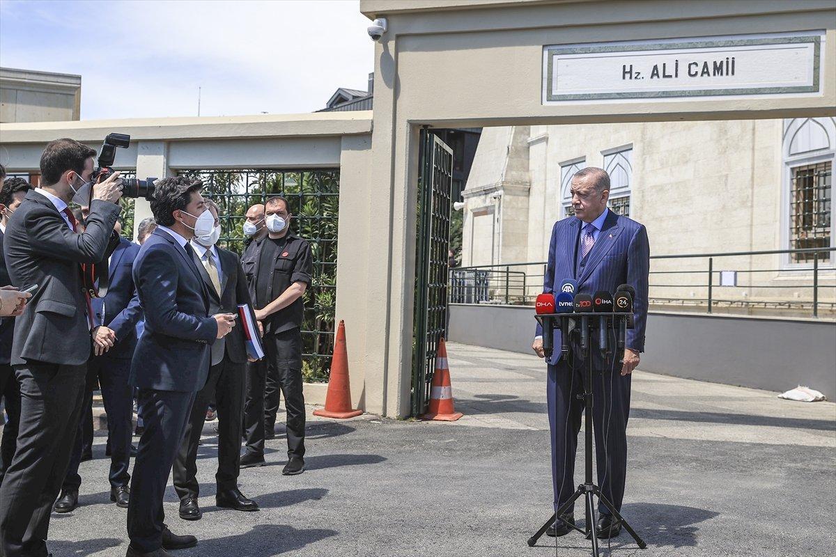 Cumhurbaşkanı Erdoğan: Yeni anayasa taslağımız bitmek üzere #1