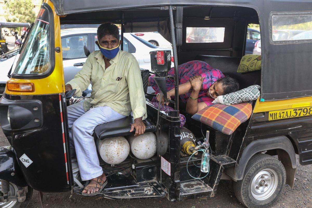 Hindistan da koronavirüs bilançosu ağırlaşıyor #2