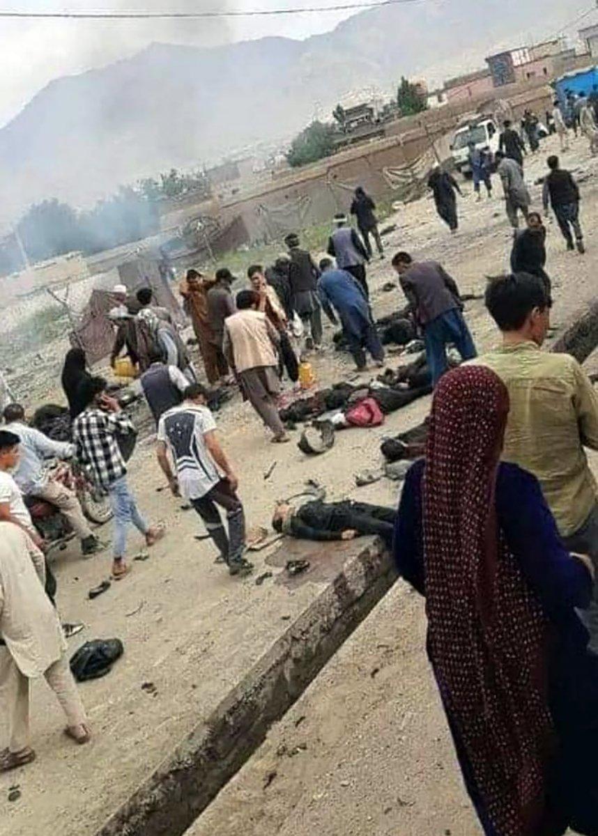 Afganistan da bombalı saldırı #5