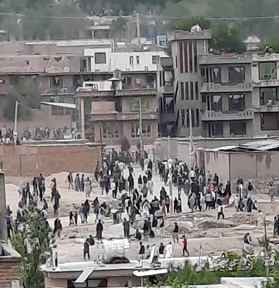 Afganistan da bombalı saldırı #1