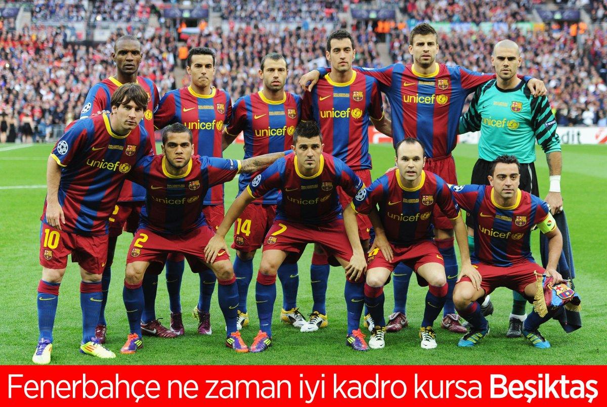 21 transfer yapan Fenerbahçe ye yine Beşiktaş engeli #5
