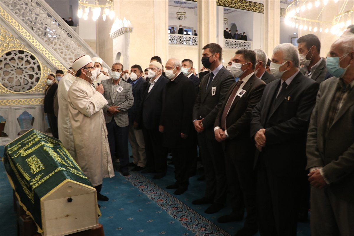 Kemal Kılıçdaroğlu, Cemil Erhan ın cenaze törenine katıldı #1