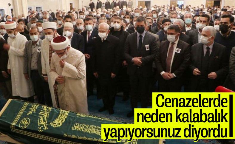 Kemal Kılıçdaroğlu, Cemil Erhan'ın cenaze törenine katıldı