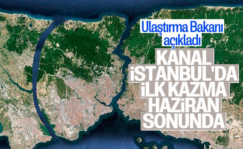 Kanal İstanbul'da ilk köprünün temeli haziran sonunda atılacak