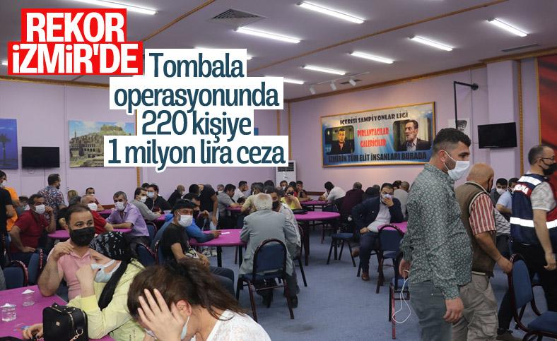 İzmir'de 3 ayrı adrese tombala operasyonu
