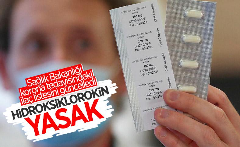 Sağlık Bakanlığı hidroksiklorokin ilacını virüs tedavisinde kullanımını durdurdu
