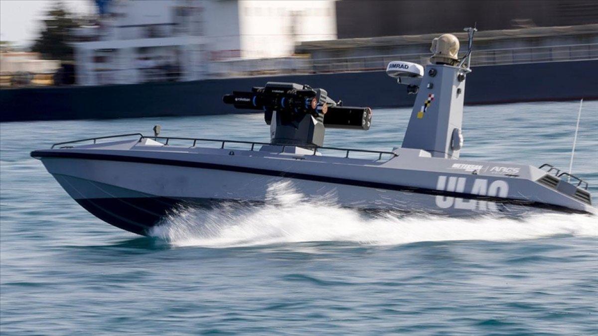 Türkiye nin ilk silahlı insansız deniz aracı, füze atışları için hazır #3