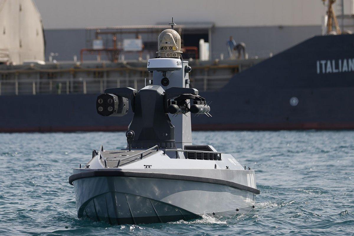 Türkiye nin ilk silahlı insansız deniz aracı, füze atışları için hazır #1