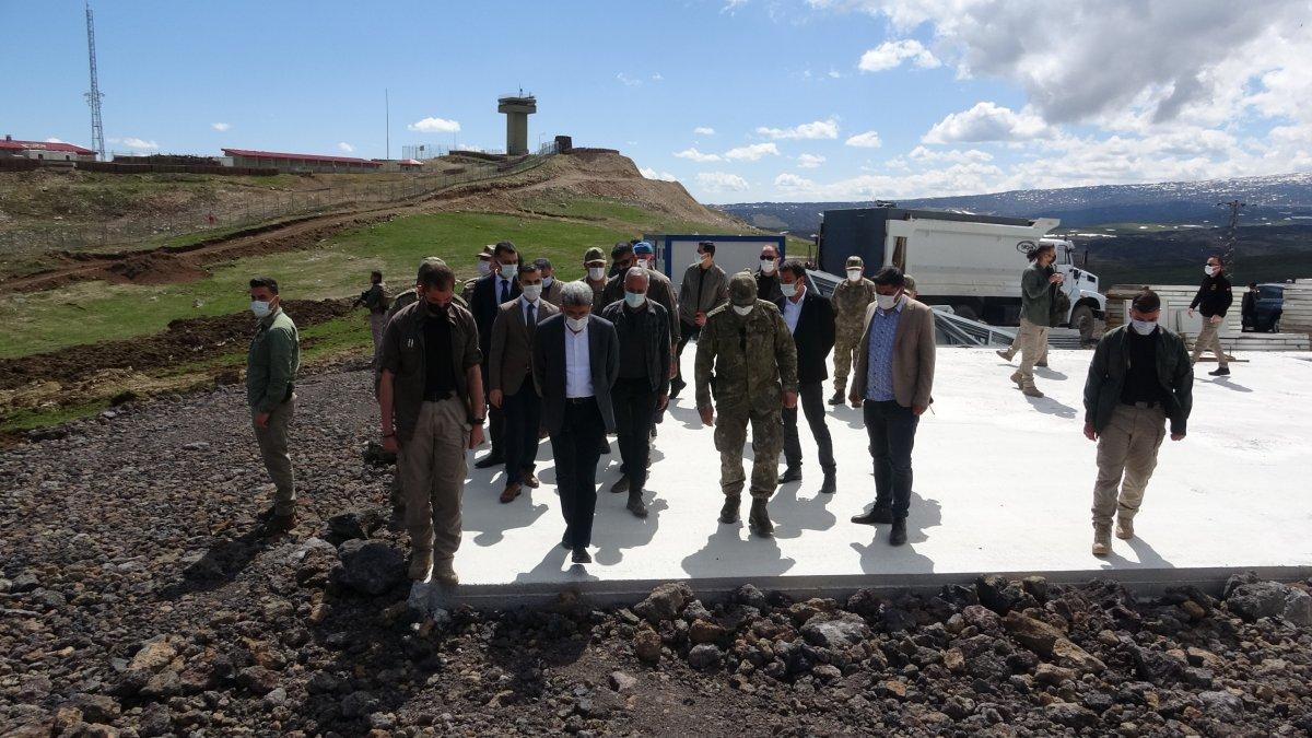 Van'ın İran sınırı 64 kilometrelik duvarla güçlendiriliyor #12