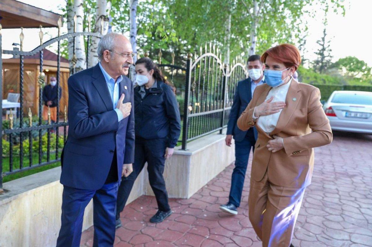 Meral Akşener ile Kemal Kılıçdaroğlu iftarda bir araya geldi #2
