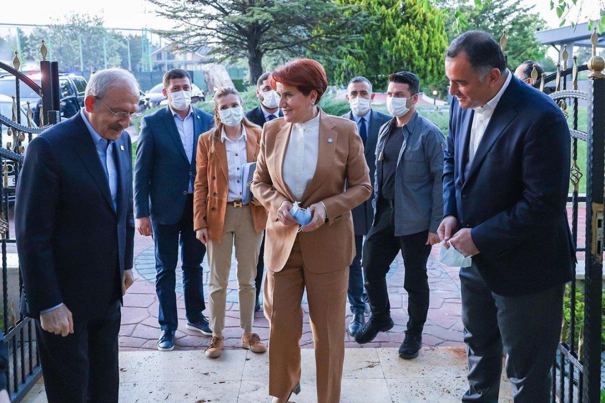 Meral Akşener ile Kemal Kılıçdaroğlu iftarda bir araya geldi #3