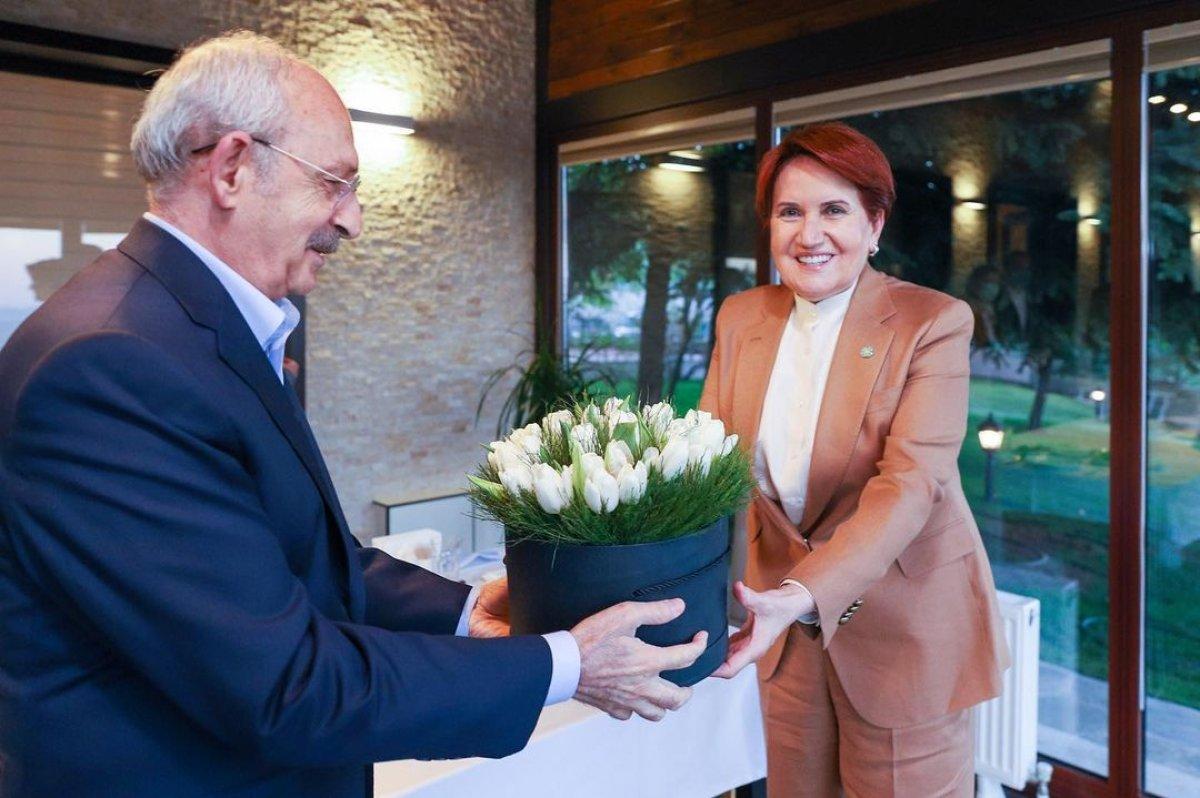 Meral Akşener ile Kemal Kılıçdaroğlu iftarda bir araya geldi #4