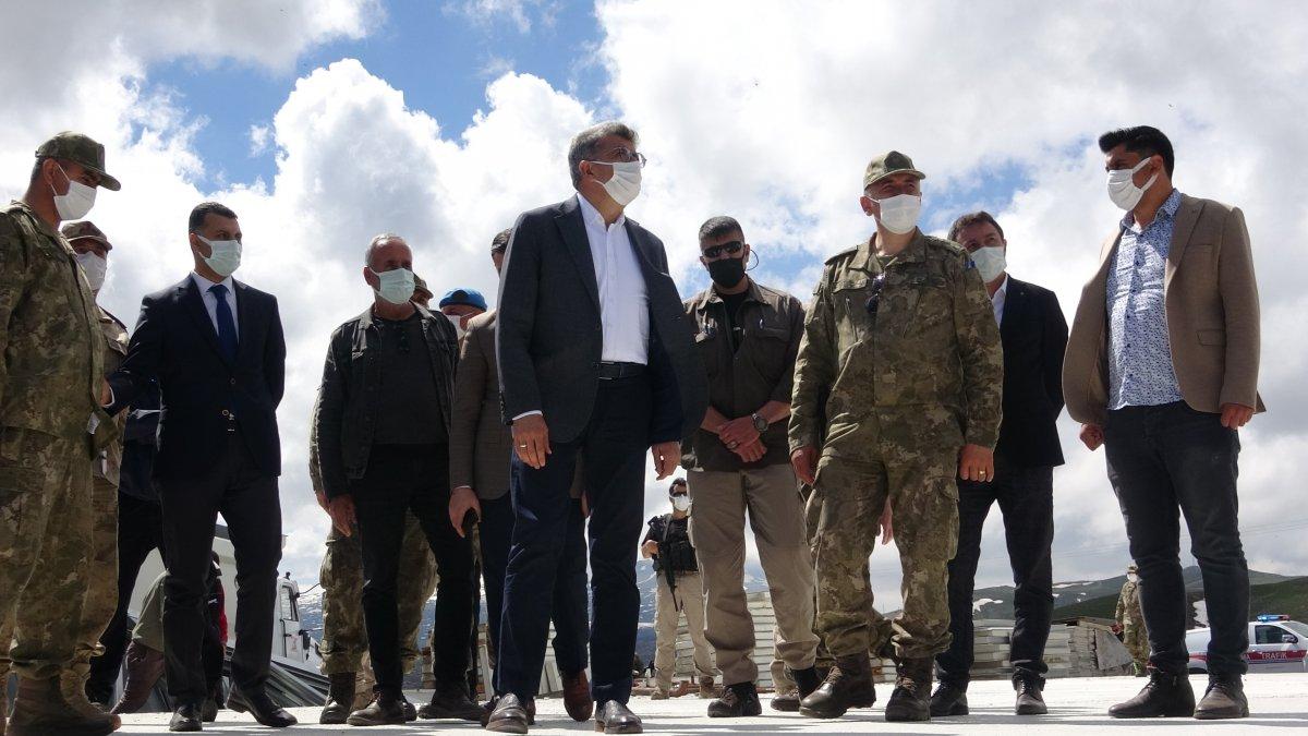 Van'ın İran sınırı 64 kilometrelik duvarla güçlendiriliyor #7