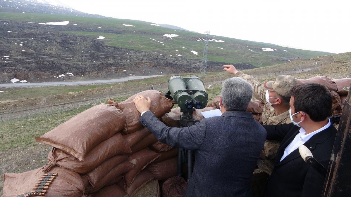 Van'ın İran sınırı 64 kilometrelik duvarla güçlendiriliyor #9