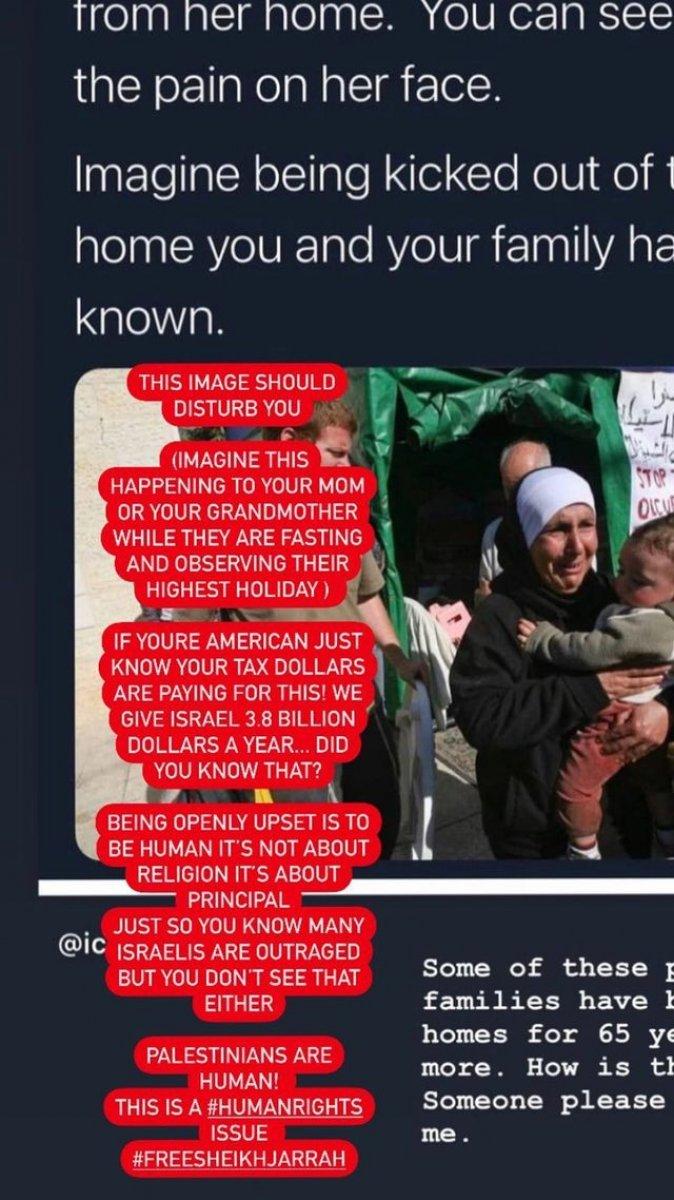 Bella Hadid: İsrail in Kudüs te döktüğü kanda ABD nin de payı var #2