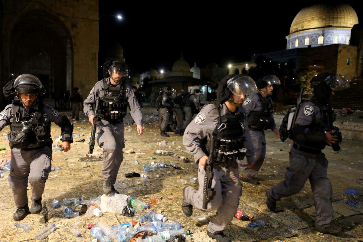 Doğu Kudüs te İsrail terörü #12