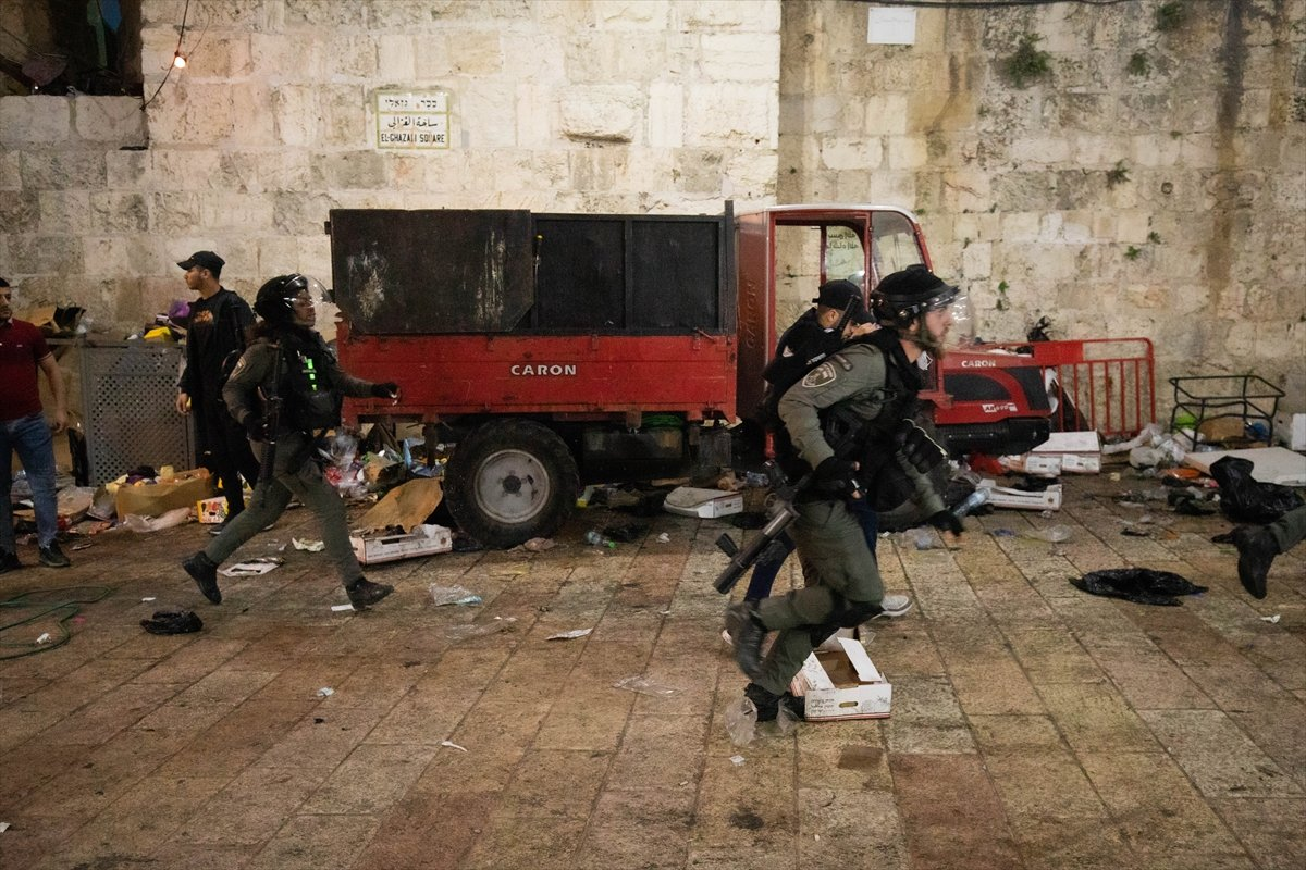 Doğu Kudüs te İsrail terörü #11