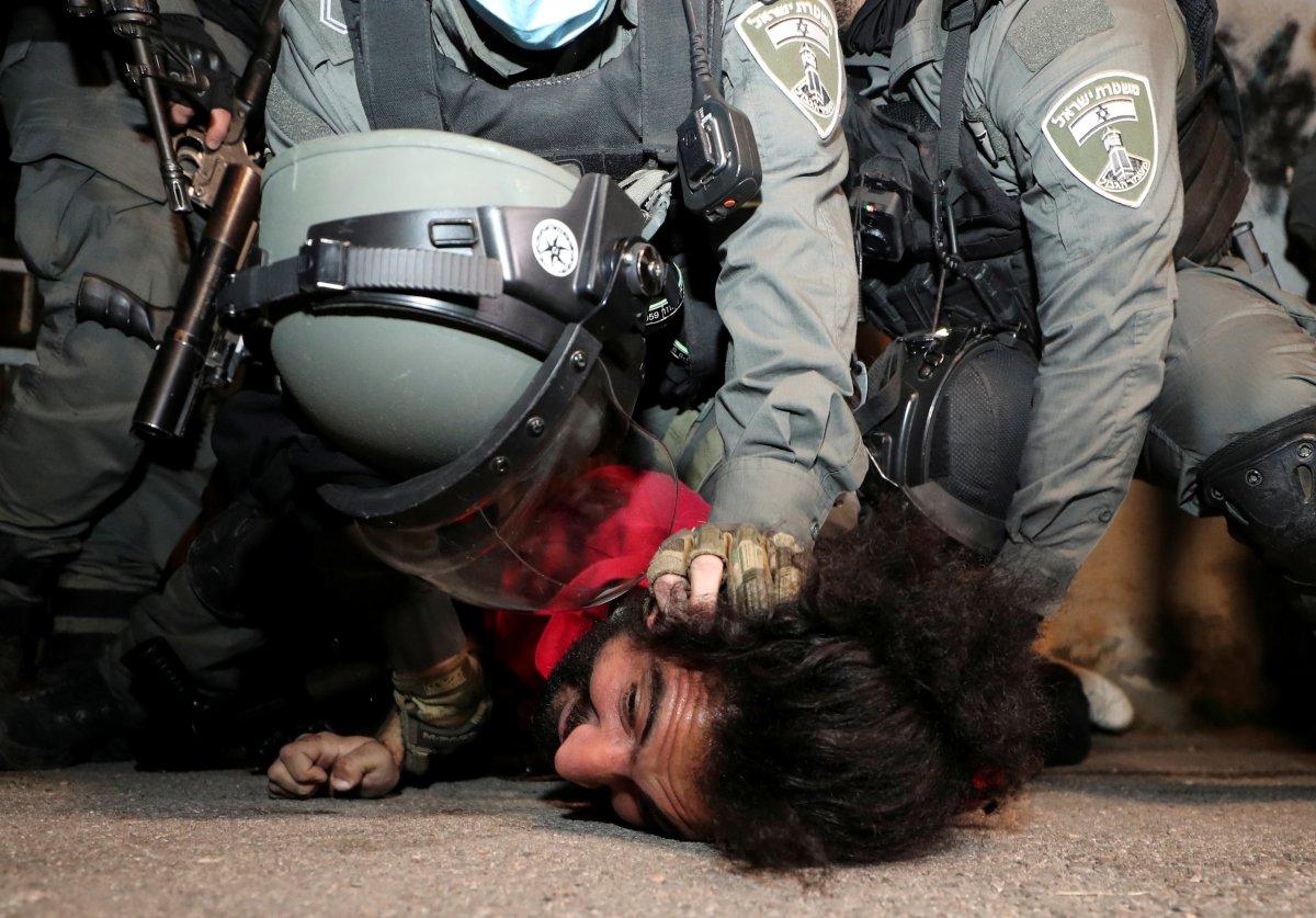 Doğu Kudüs te İsrail terörü #3