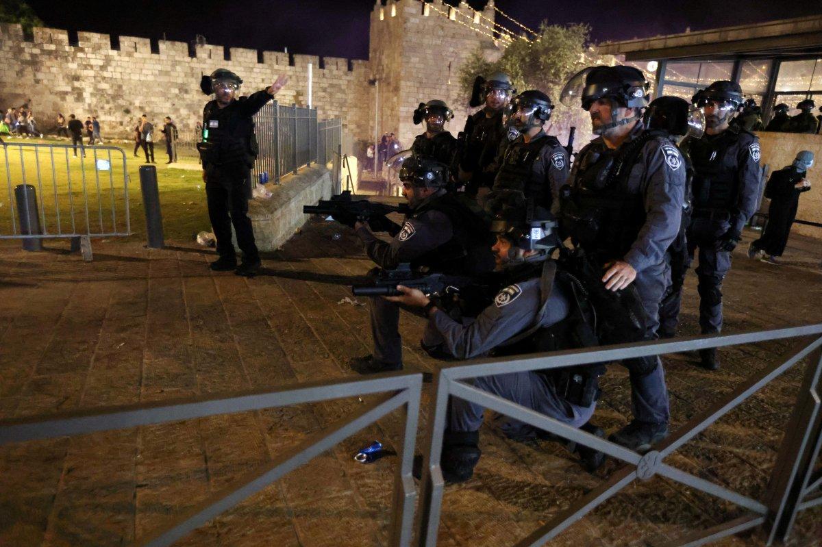 Doğu Kudüs te İsrail terörü #9