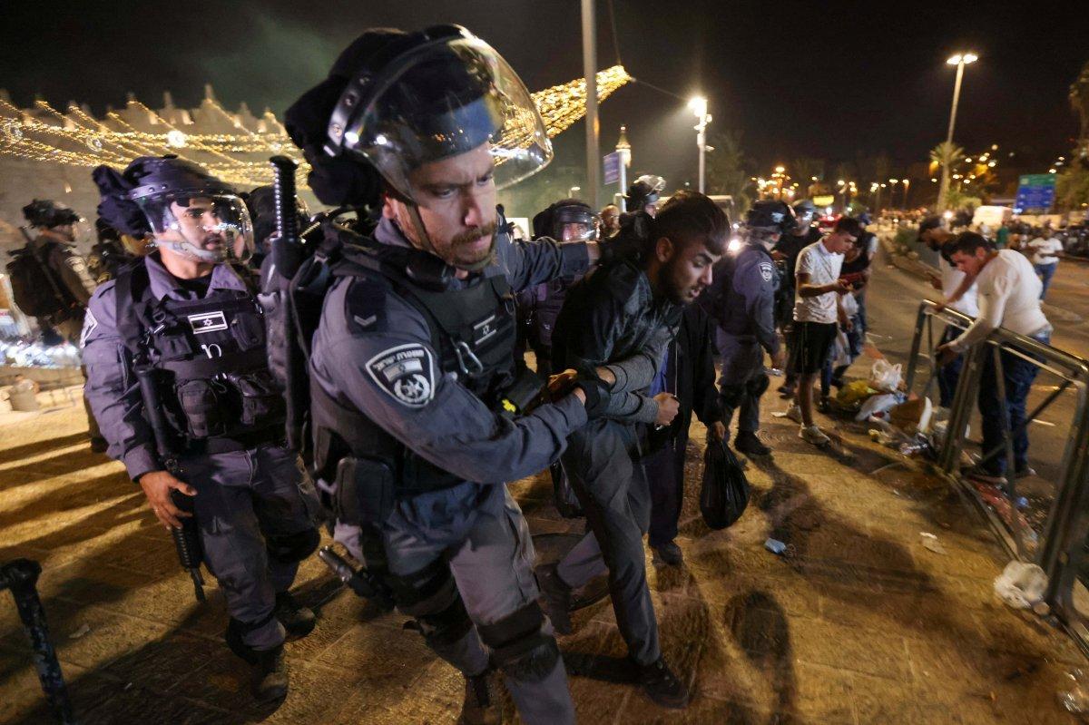 Doğu Kudüs te İsrail terörü #7