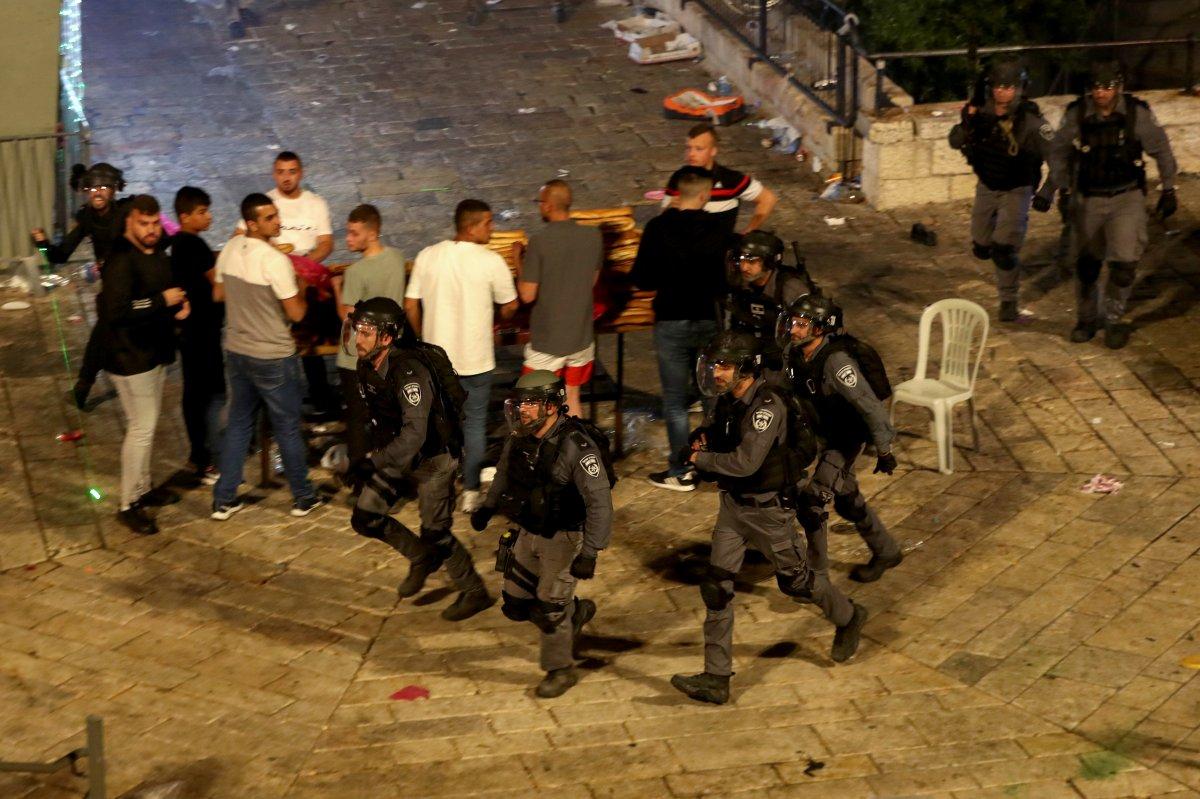 Doğu Kudüs te İsrail terörü #20