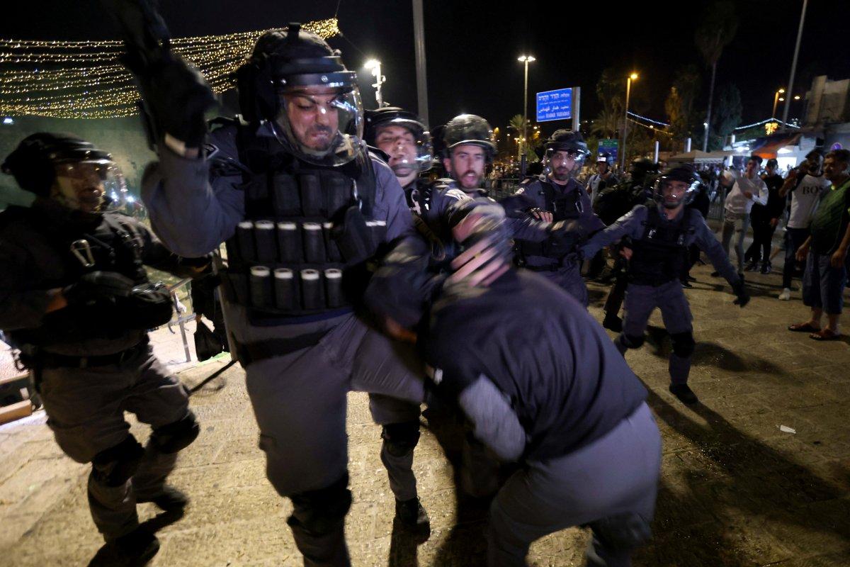 Doğu Kudüs te İsrail terörü #6