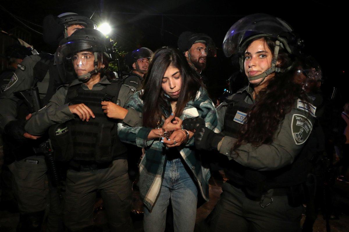 Doğu Kudüs te İsrail terörü #5